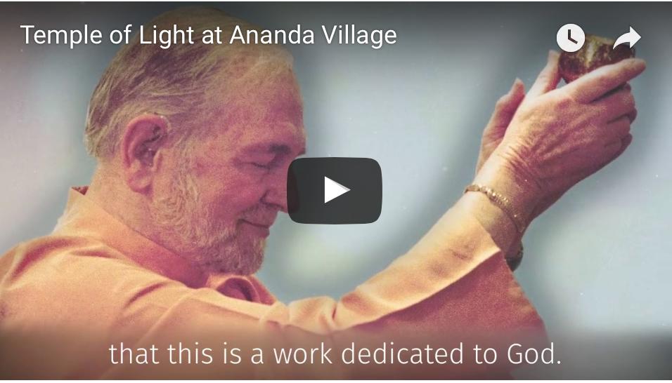 Nel mondo c'è bisogno di più gioia-Ananda Village